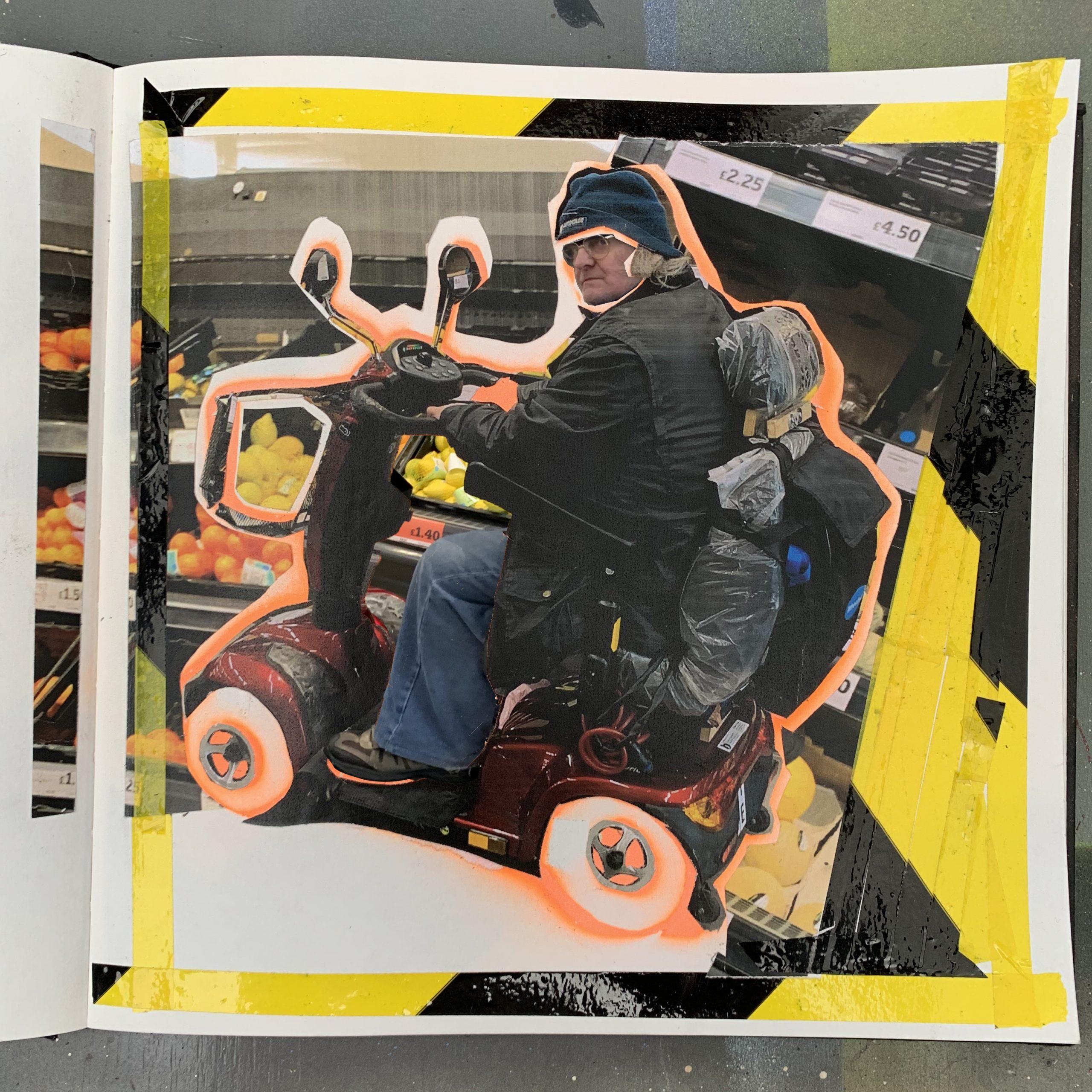 Hazard Tape series - Mobility man